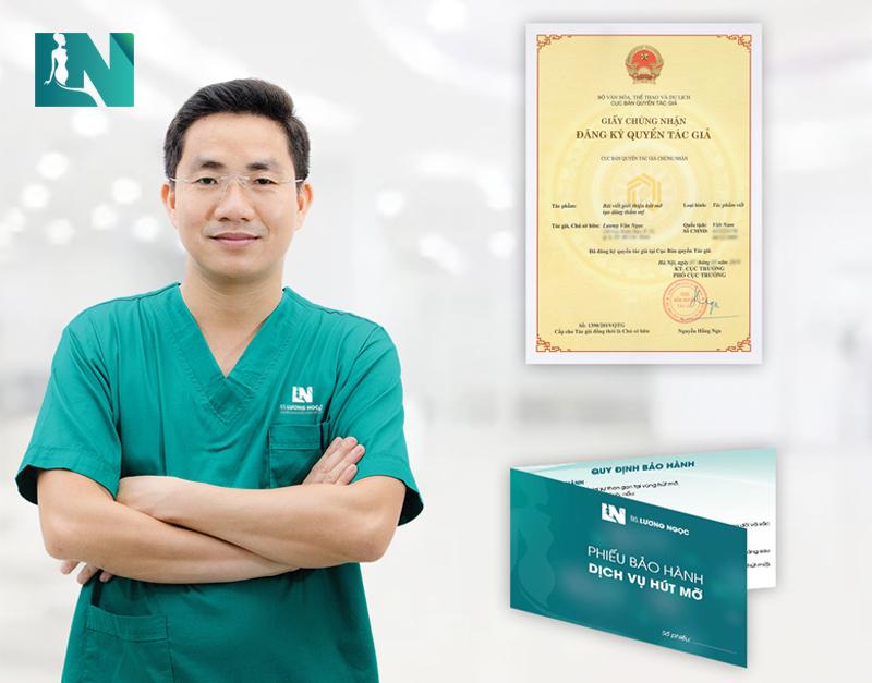 Bác sĩ Lương Ngọc - Bác sĩ đầu tiên cam kết bảo hành kết quả: ĐẸP và AN TOÀN