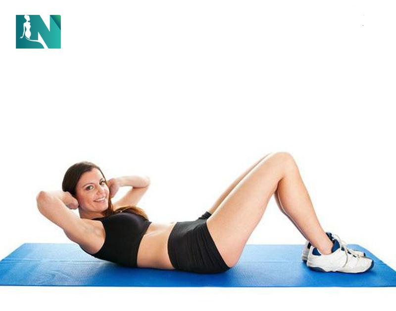 Thử tập bụng và các bài tập tăng cường sức mạnh