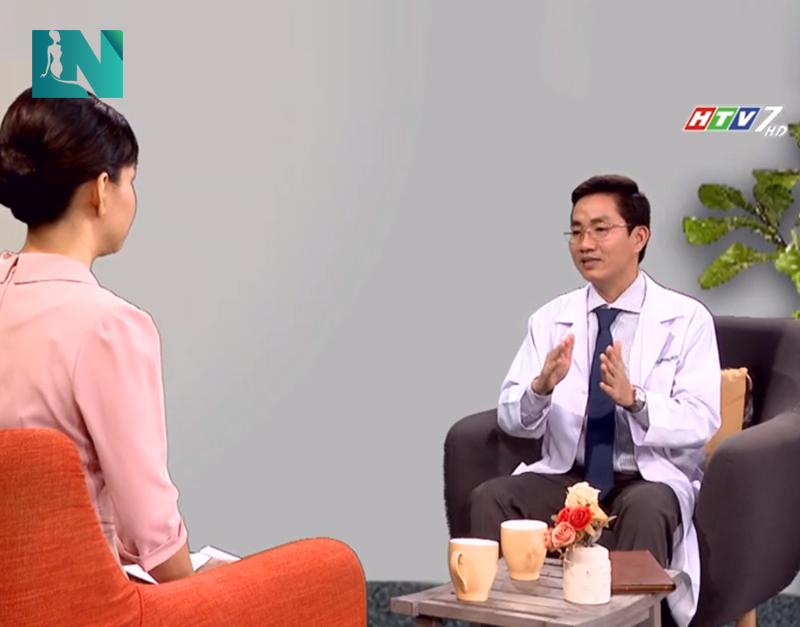 Bác sĩ Lương Ngọc chia sẻ vấn đề thẩm mỹ vóc dáng an toàn trênHTV